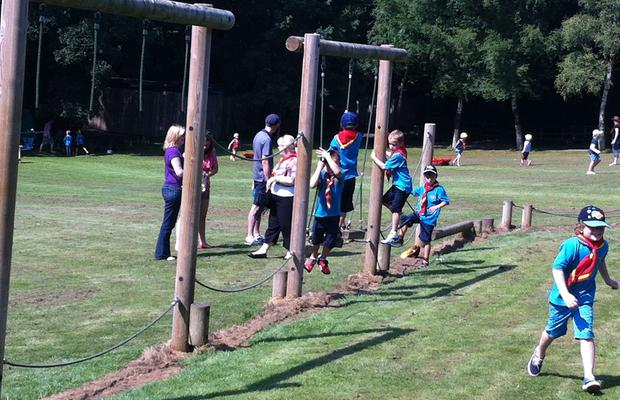 On The Assault Course