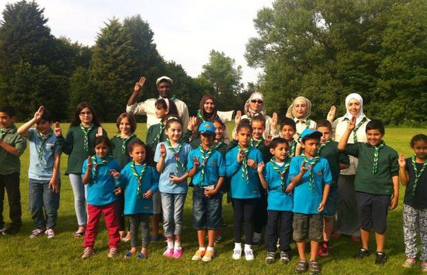 Opening of our Muslim Scout Group