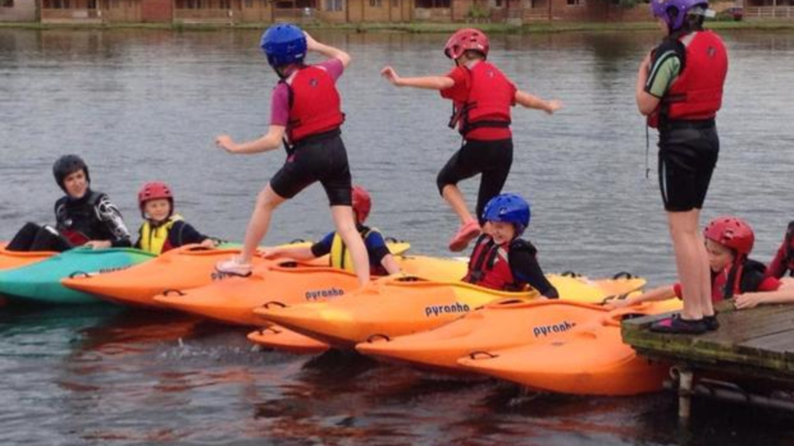 Humberside Scouts - Adults in Scouting Kayak Day