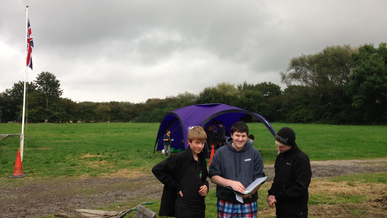 Blacktoft beacon campcraft event