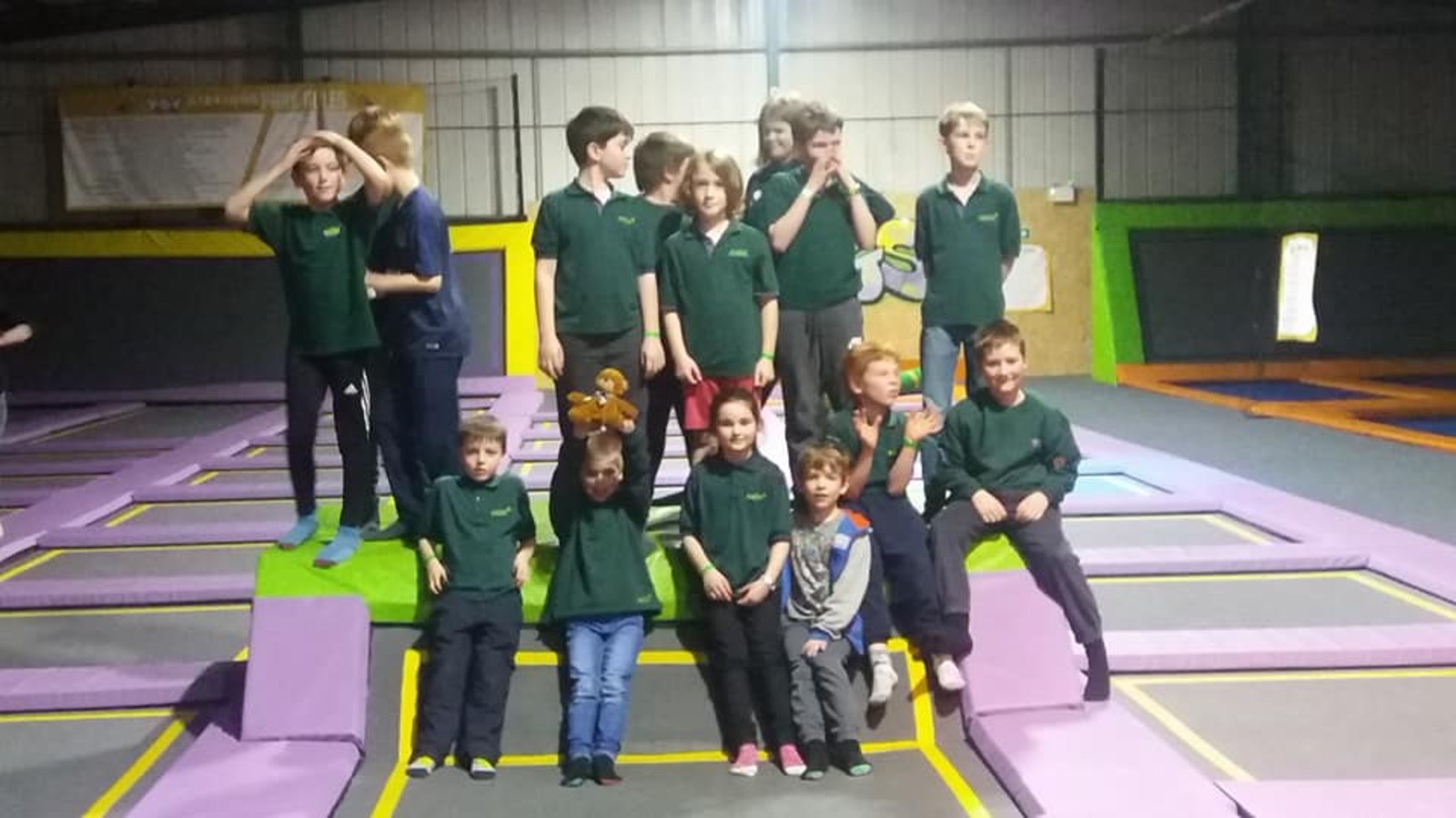 A Visit to the Trampoline Park