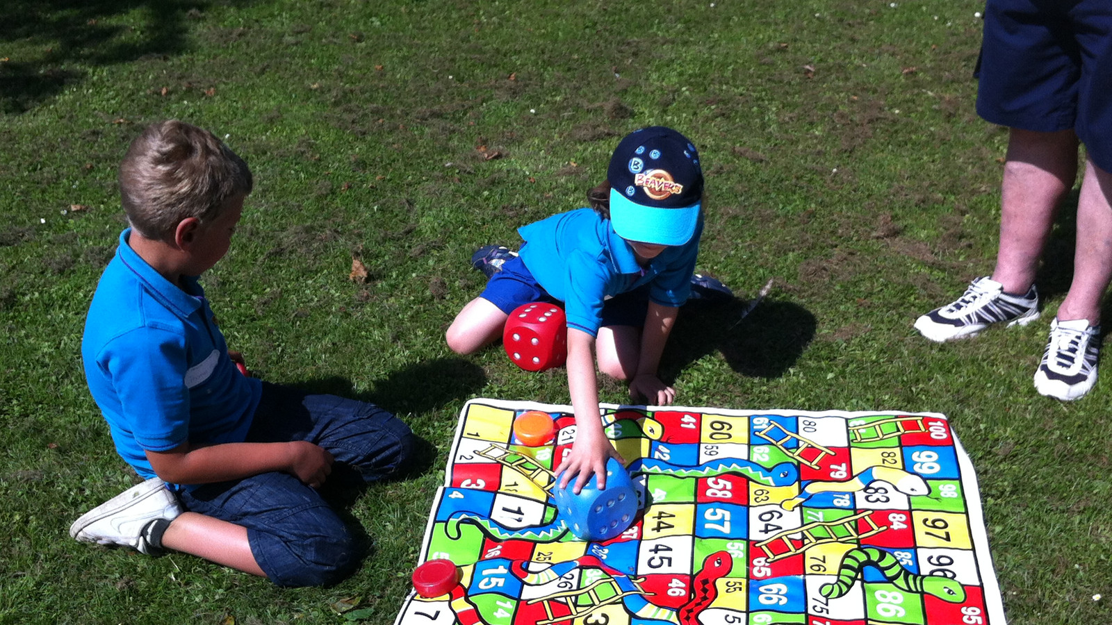 Playing Snakes And Ladders