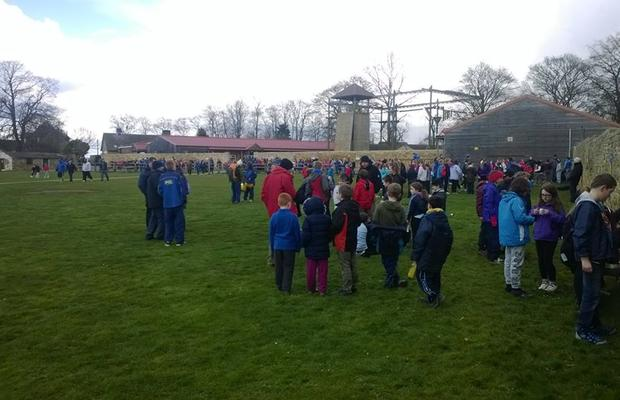 Scouts at the PGL weekend