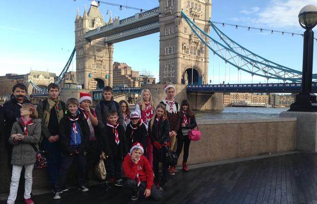 Keyingham Group at Tower Bridge