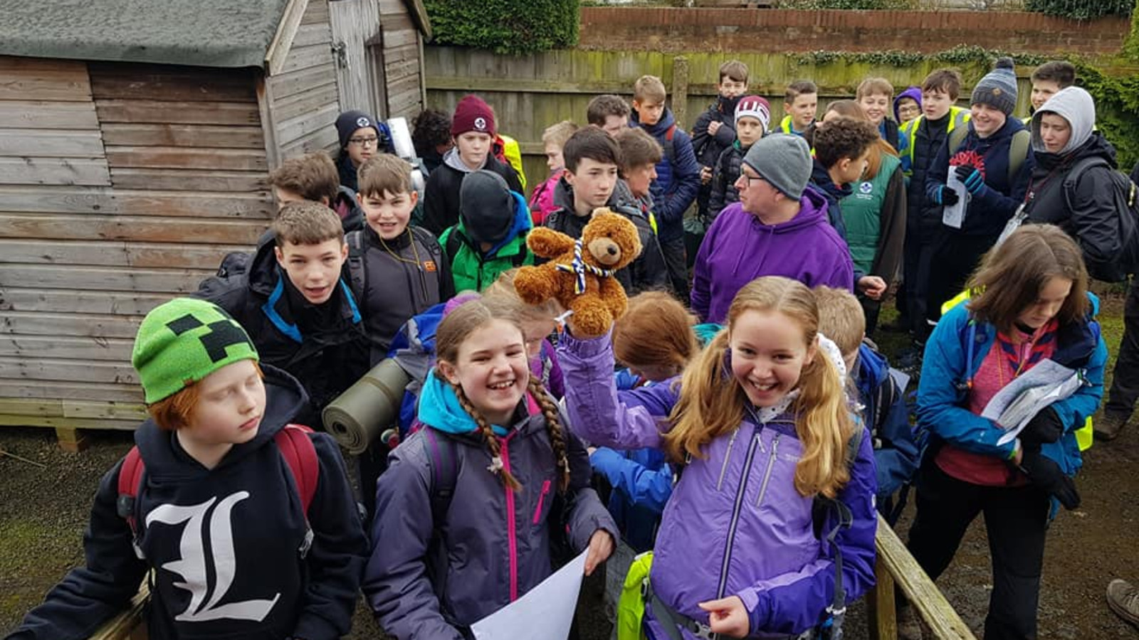 Wolds Challenge Hike