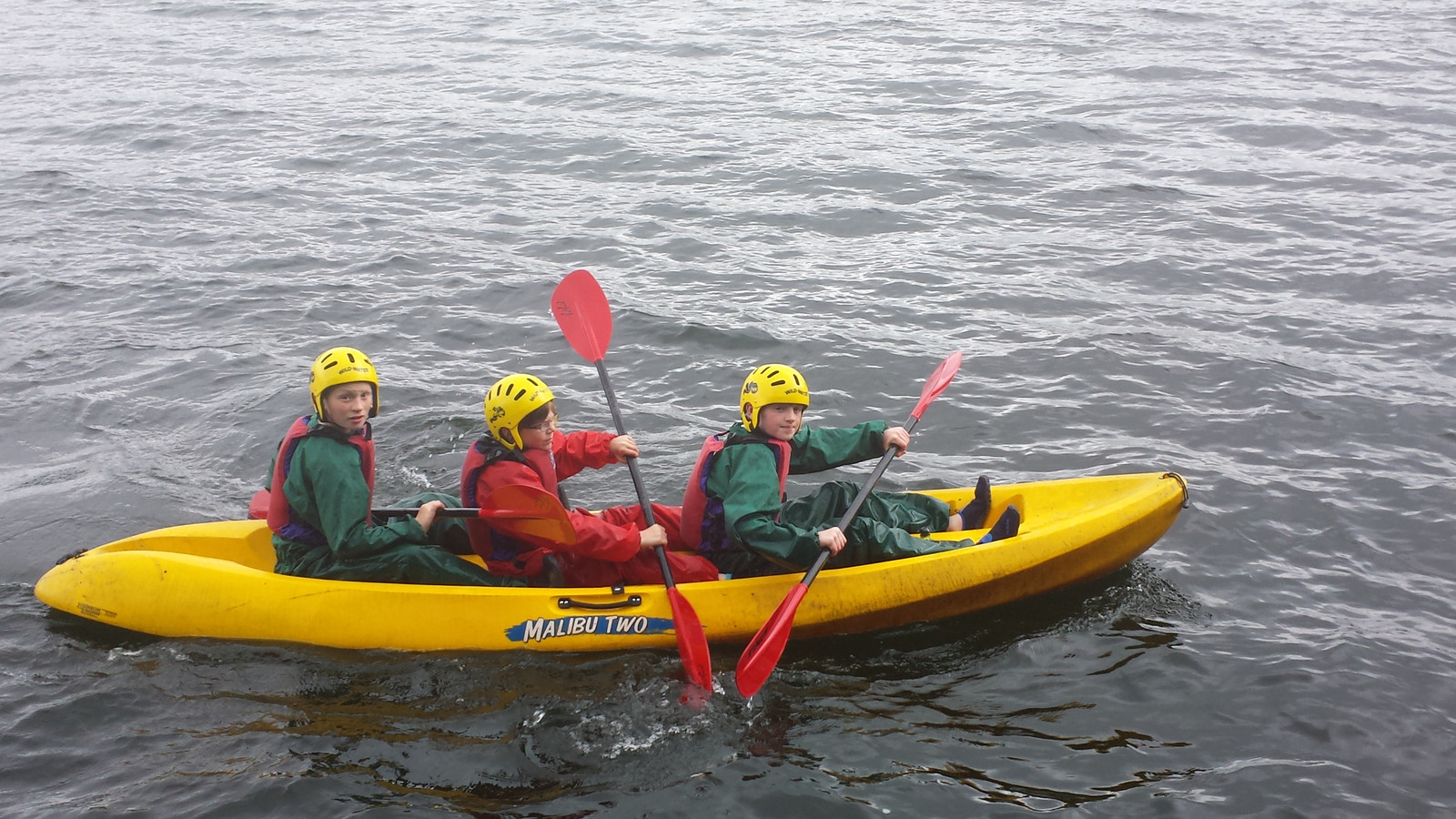 Scouts Canoeing