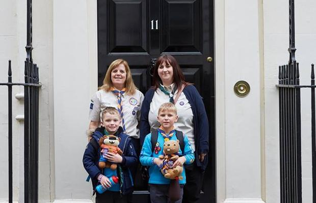 Beavers Trip to Downing Street