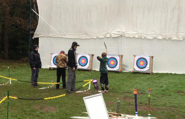 Archery at Primrose Hill