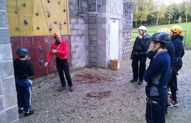 Climbing at Raywell