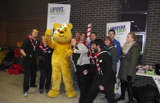 Scouts Supporting Children in Need