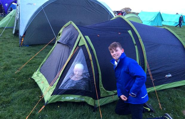 County Scout Camp 2015