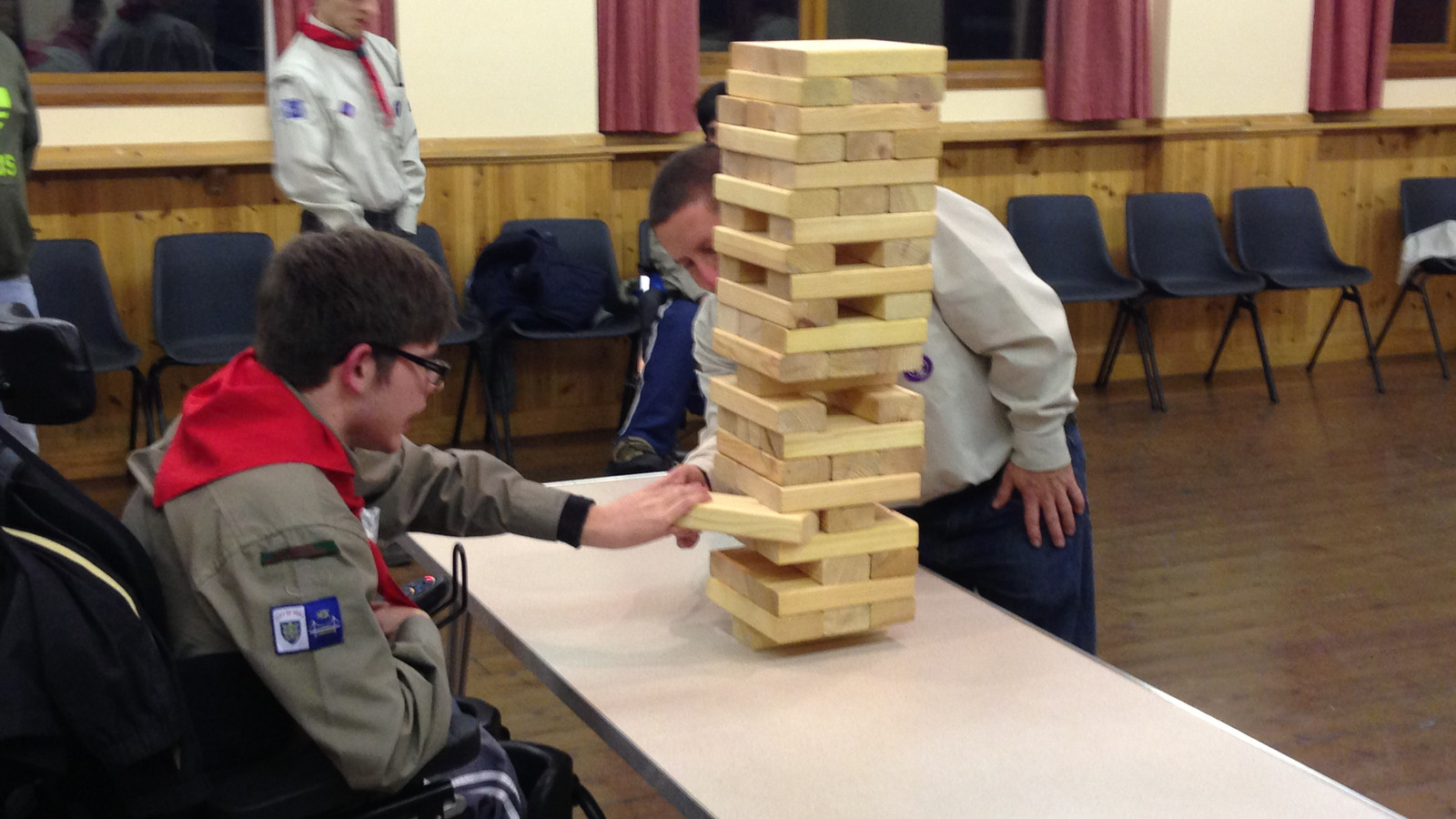 Playing Jenga